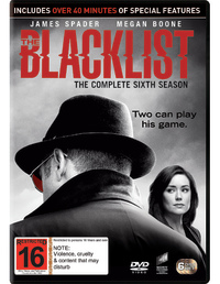 The Blacklist - Season 6 on DVD