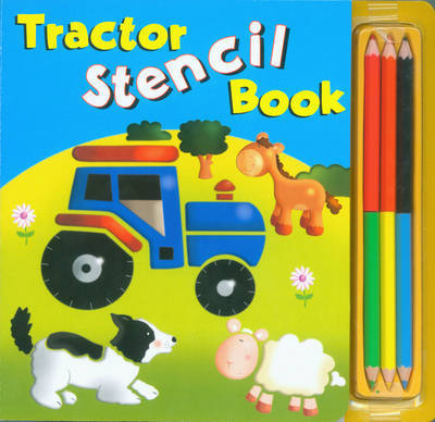 Tractor Stencil Book by Rachel Elliot image