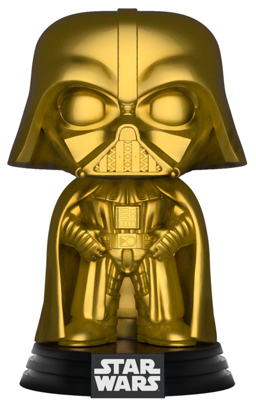Star Wars - Darth Vader (Gold Chrome) Pop! Vinyl Figure