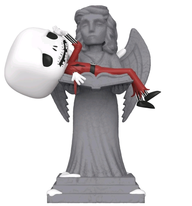 Nightmare Before Christmas - Jack (Jack on Angel Statue) Pop! Movie Moment Figure
