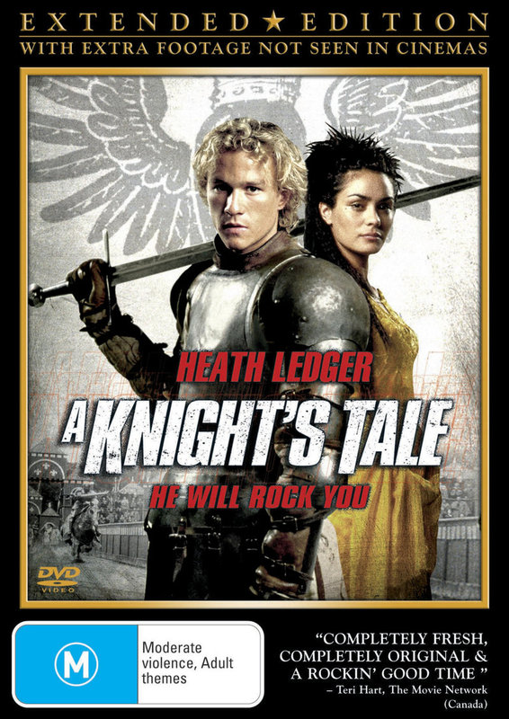 A Knight's Tale - Extended Edition on DVD