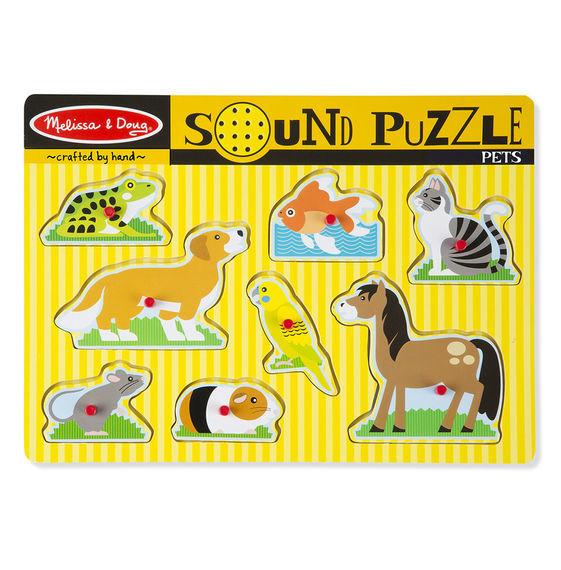 Melissa & Doug: Pets Sound Puzzle image