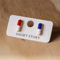 Short Story: Funky Play Earrings - Capsules
