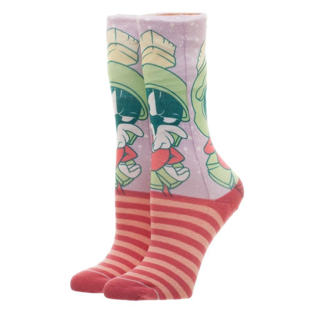 Looney Tunes Marvin Jrs Faded Neon Socks image