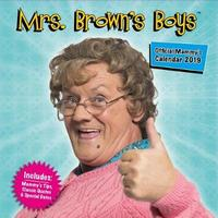 Danilo: Mrs Brown's Boys 2019 Square Wall Calendar