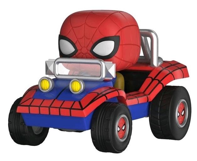 Marvel: Spider Mobile - Pop! Ride Vinyl Set