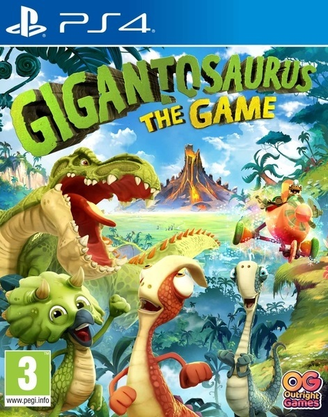 Gigantosaurus: The Game for PS4