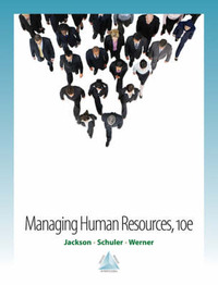 Managing Human Resources by Susan E Jackson (Stern School of Business Administration New York Rutgers University Stern School of Business Administration, New York Univ. Stern Sch image