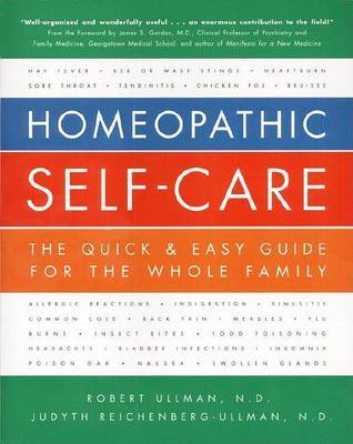 Homeopathic Self-care by Robert Ullman image