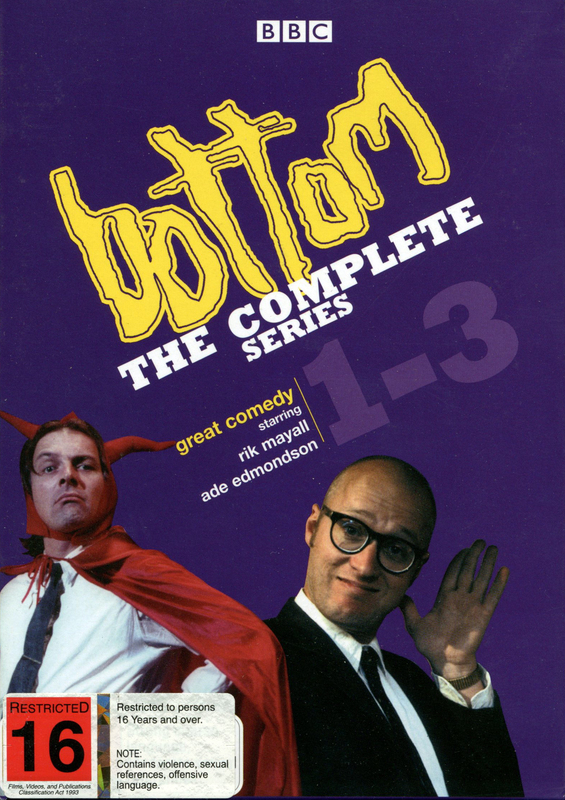 Bottom - The Complete Series 1-3 (3 Disc Box Set) on DVD