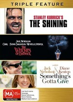 Shining, The / Witches Of Eastwick / Something's Gotta Give - Triple Feature (3 Disc Set) on DVD