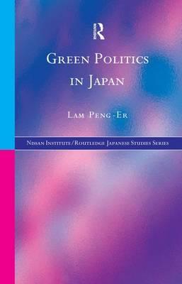 Green Politics in Japan by Lam Peng Er image