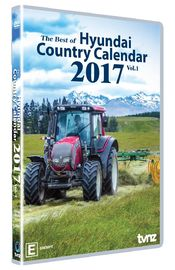 Country Calendar 2017 - Vol 1 on DVD