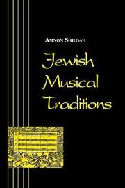 Jewish Musical Traditions by Amnon Shiloah