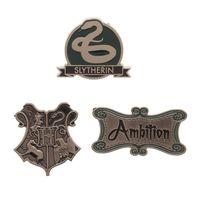 Harry Potter: Slytherin - Lapel Pin Set