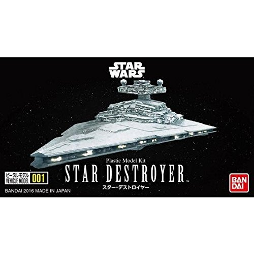 Star Wars VEHICLE MODEL 001 Star Destroyer - Scale Model Kit