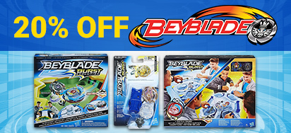 20% off Beyblade!