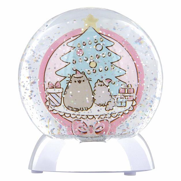 Pusheen: Waterdazzler Globe - Christmas