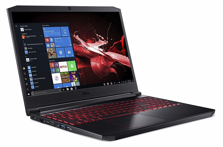 15.6 Acer Nitro 7 Gaming Laptop i7 Intel GTX166Ti 16GB image