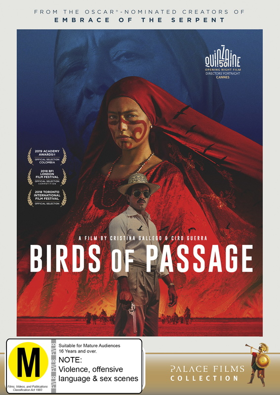 Birds of Passage on DVD