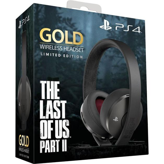 PlayStation Gold Wireless 7.1 Gaming Headset - The Last of Us Part II Limited Edition for PS4