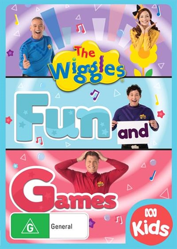 The Wiggles: Fun & Games on DVD