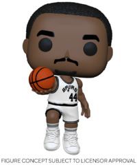 NBA Legends: George Gervin (Spurs Home) - Pop! Vinyl Figure