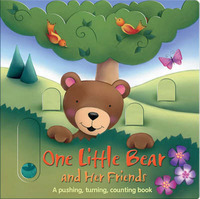 One Little Bear and Her Friends: A Pushing, Turning, Counting Book by Erin Ranson image