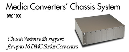 D-Link Media Converters' Chassis System