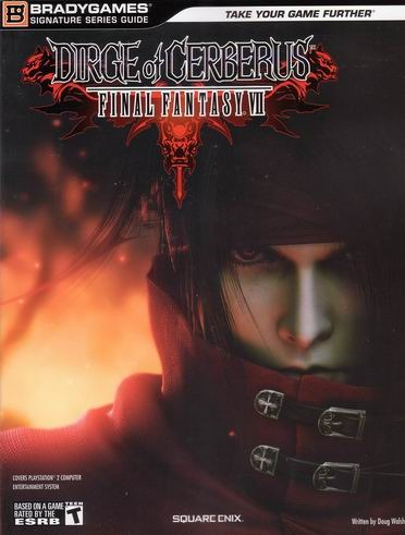 Final Fantasy VII Dirge Cerberus Guidebook for PlayStation 2