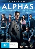 Alphas - The Complete Season One on DVD