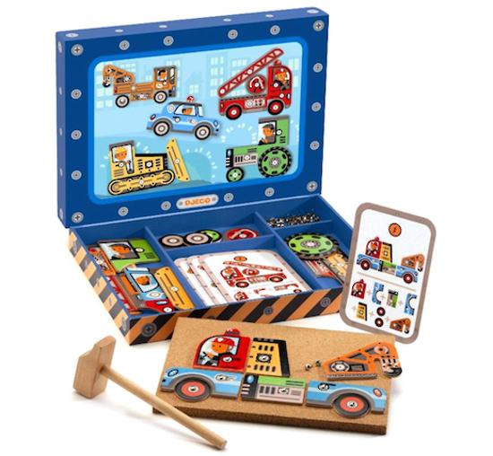 Djeco: Tap Tap - Vehicles