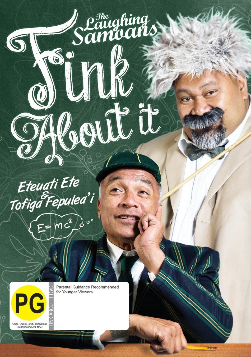 The Laughing Samoans: Fink About It on DVD image