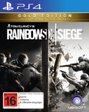 Tom Clancy's Rainbow 6 Siege Gold Edition for PS4