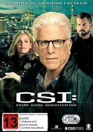 C.S.I. - Complete Season Fifteen on DVD