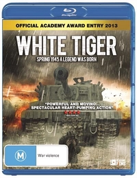 White Tiger on Blu-ray
