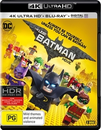 The Lego Batman Movie (4K UHD + Blu-ray + Digital) DVD