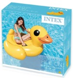 Intex: Yellow Duck Ride-on