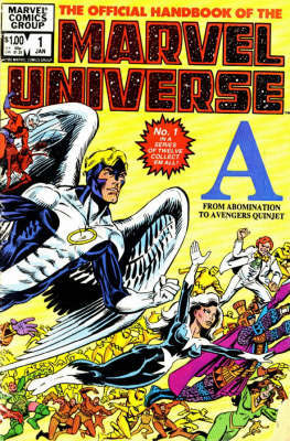 Essential Official Handbook of the Marvel Universe: v. 1 by Mark Gruenwald image