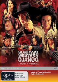 Sukiyaki Western Django on DVD