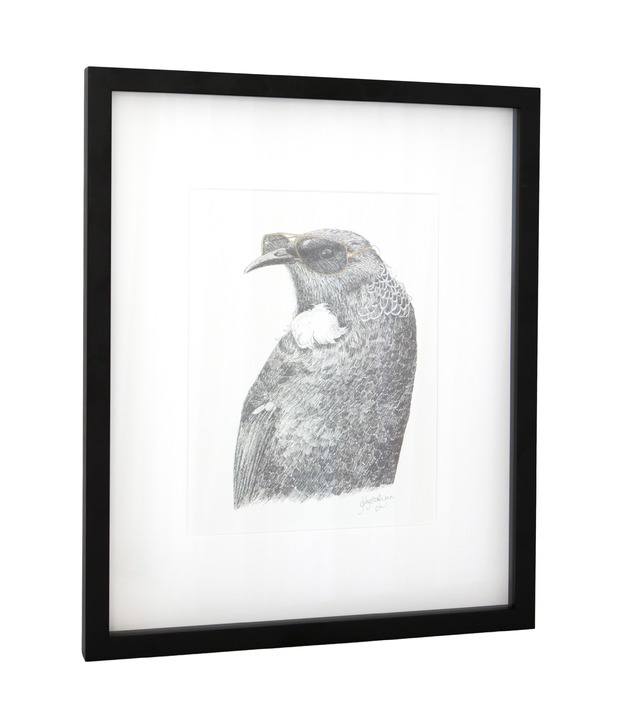 Framed Art Print - 'Tui Tom'
