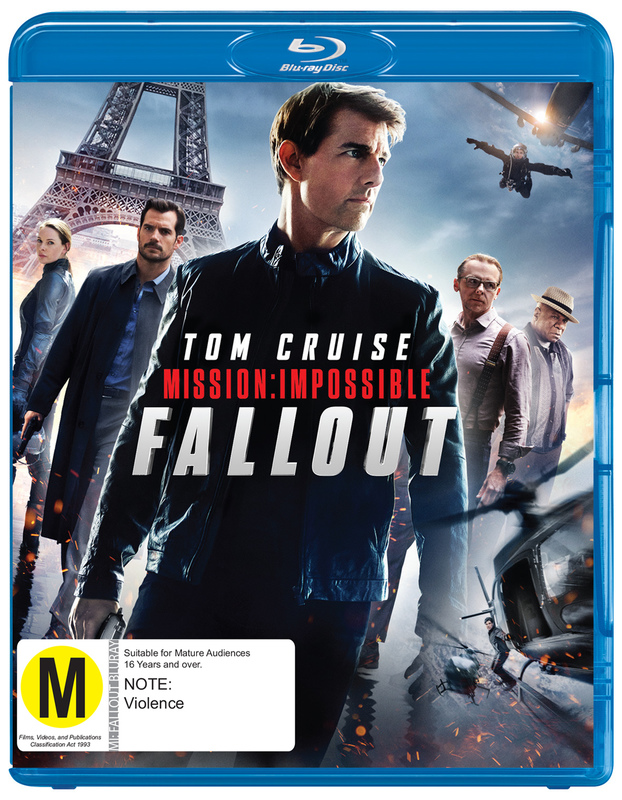 Mission Impossible: Fall Out on Blu-ray