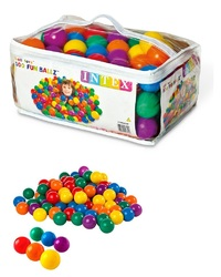 Intex: Fun Ball - Small Plastic Ball Set (100 piece)