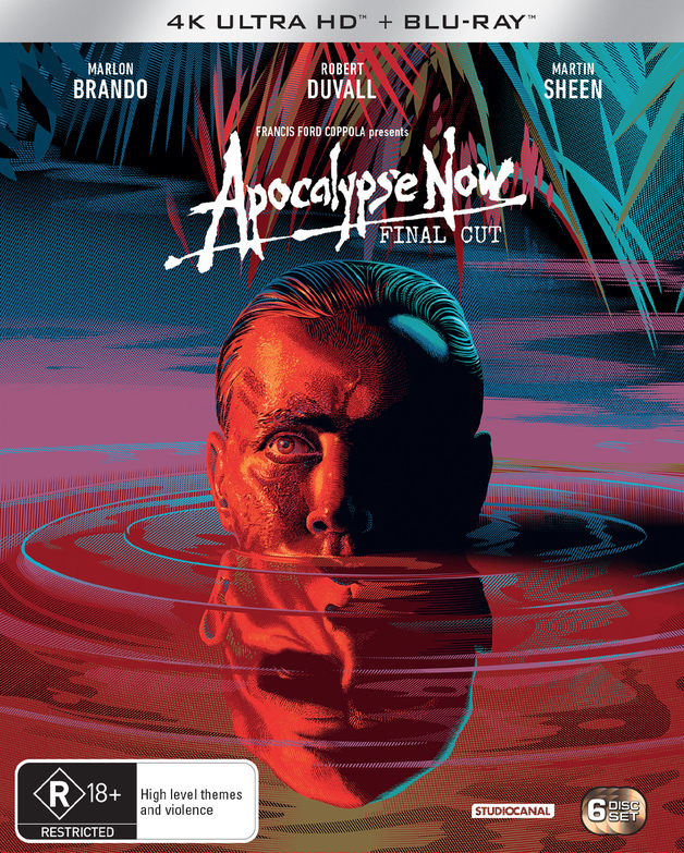 Apocalypse Now: Final Cut (6 Disc Set) on Blu-ray, UHD Blu-ray