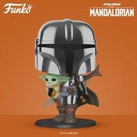 "Star Wars: The Mandalorian - 10"" Super Sized Pop! Vinyl Figure"