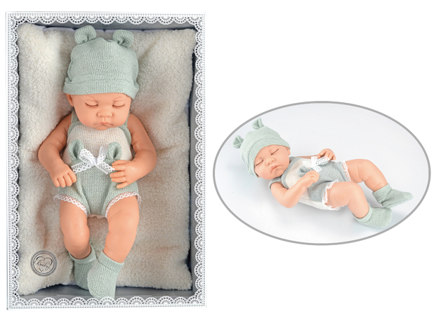 Baby So Lovely: Newborn Baby with Pillow- Boy