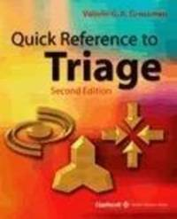 Quick Reference to Triage by Valerie G.A. Grossman image