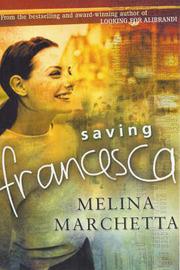 Saving Francesca by Melina Marchetta image