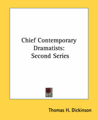 Chief Contemporary Dramatists image