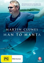 Martin Clunes - Man to Manta: In Search of the Giant Ray on DVD